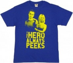 Hero Always Peeks T-Shirt